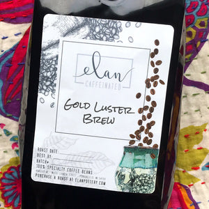 Gold Luster Brew - 14 oz bag - Flavored Coffee