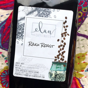 Raku Roast - 14 oz bag - Flavored Coffee