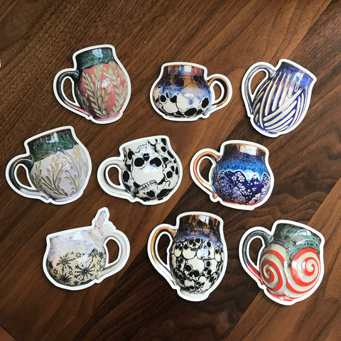 Mug Magnets (one each of 9)