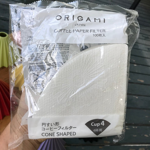 Paper FILTERS for Origami Coffee Dripper