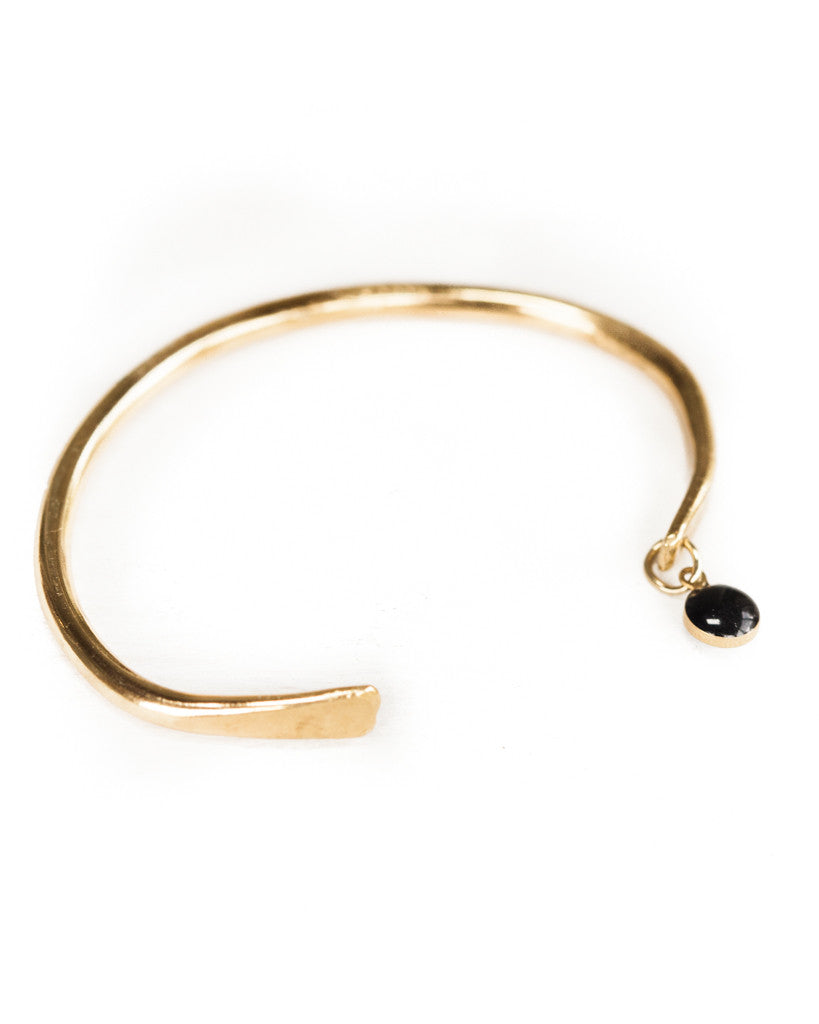 Black Dot Bangle