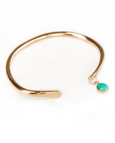 Turquoise Dot Bangle