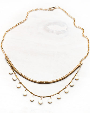 Sway Necklace • Ivory