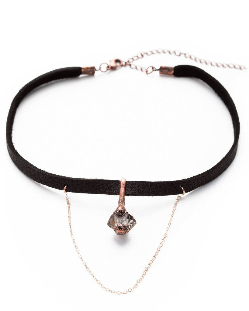 Kismet Choker • Rose Gold & Copper