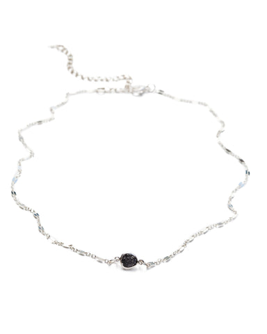 Cosmos Choker • Raw Black Diamond