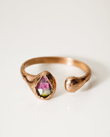 Droplet Ring • Rose Gold