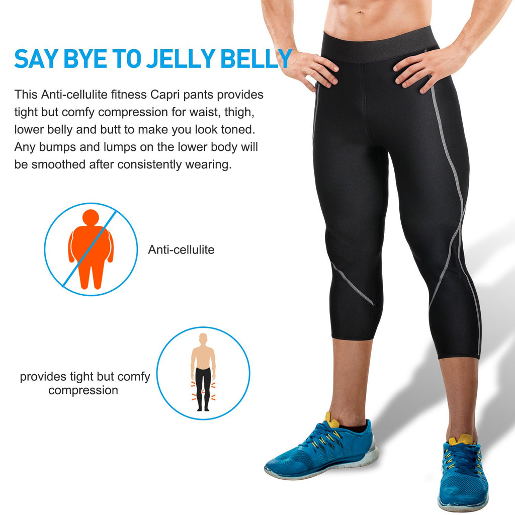 HOT Neoprene Slimming Pants Top shaper weight loss yoga workout anti cellulite