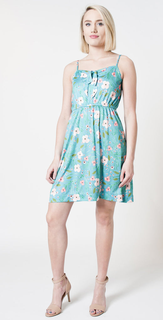 TIFFANY BEAN FLORAL MARGARET DRESS