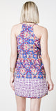 Michael Stars Tulum Border Print Dress