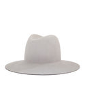 Janessa Leone Majori Leather Brim Hat - SWANK - Hats - 1