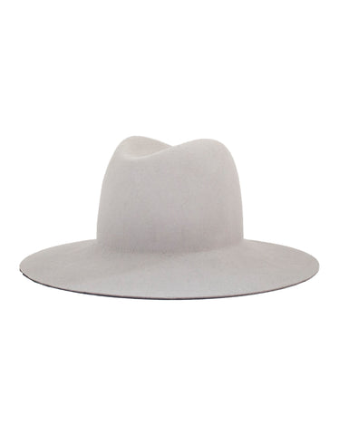 Janessa Leone Majori Leather Brim Hat