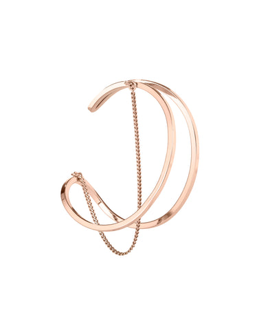 Jenny Bird River Cuff in Rose Gold