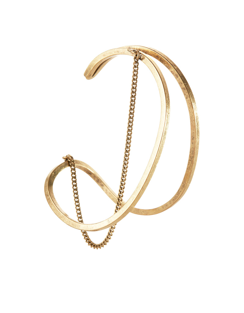 Jenny Bird River Cuff in Gold - SWANK - Jewelry - 2