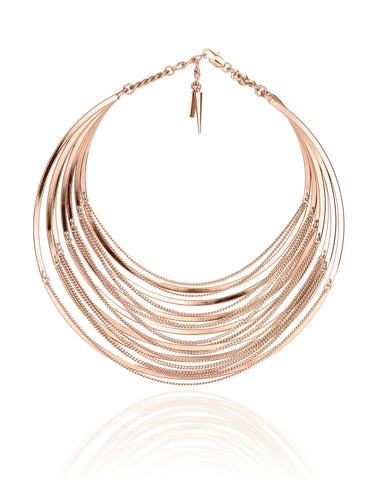 Jenny Bird Illa Collar in Rose Gold