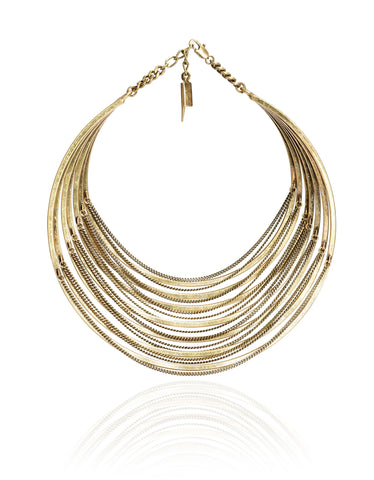 Jenny Bird Illa Collar in Gold