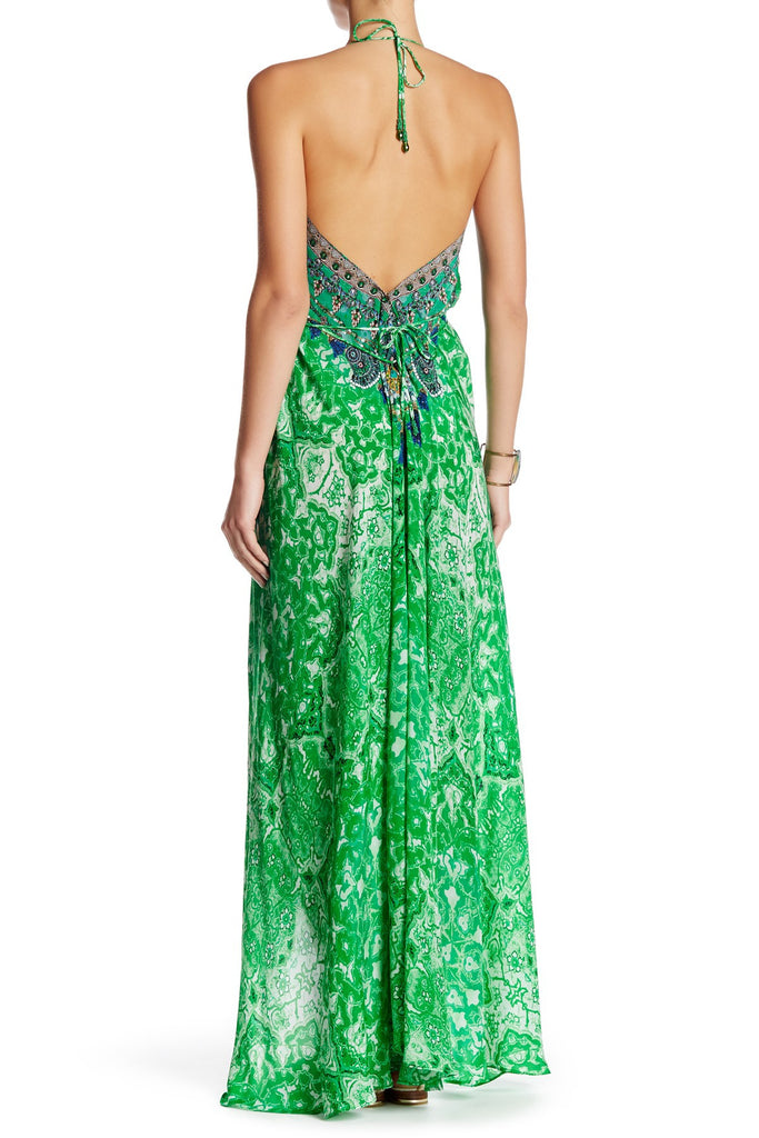 Shahida Parides Persian Princess 3-Way Style Dress in Green - SWANK - Dresses - 2