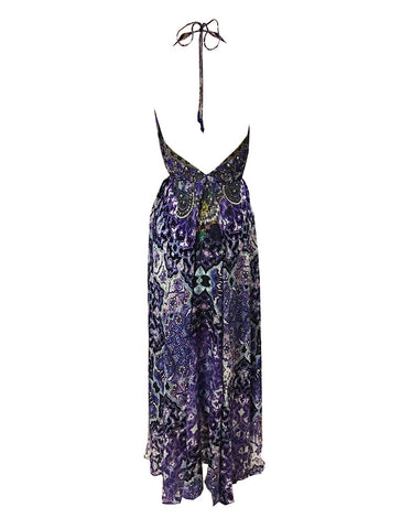 Shahida Parides Persian Princess 3-Way Style Dress in Purple Rain