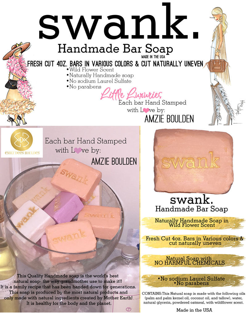 Swank Handmade All Natural Soap- 5 Bars - SWANK - other - 1