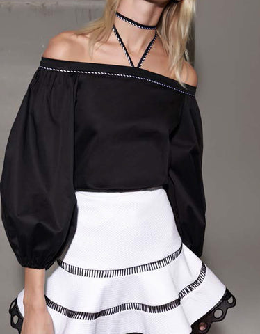 Alexis Karen Top in Black