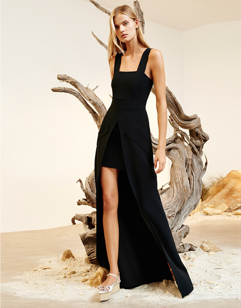Alexis Katrina Dress in Black - SWANK - Dresses - 1