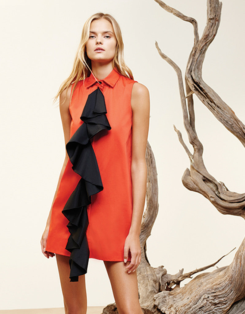 Alexis Mylo Dress in Red - SWANK - Dresses - 2