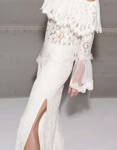 PRE-ORDER: Alexis Rina Lace Pants in Ivory