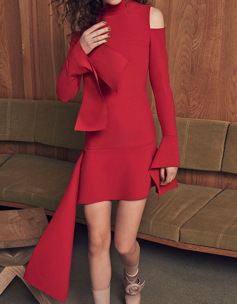 Alexis Alia Dress in Red
