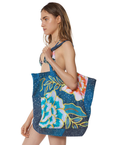 Mara Hoffman Arcadia Beach Bag in Indigo