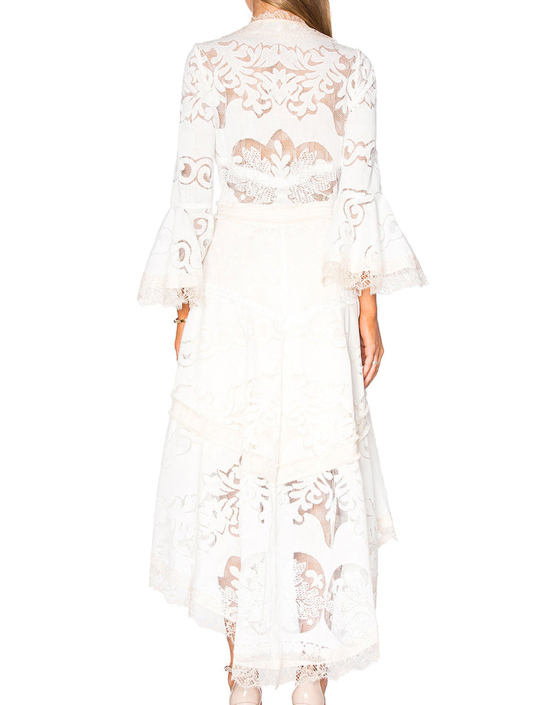 Alexis Ash Dress in Pearl White - SWANK - Dresses - 4