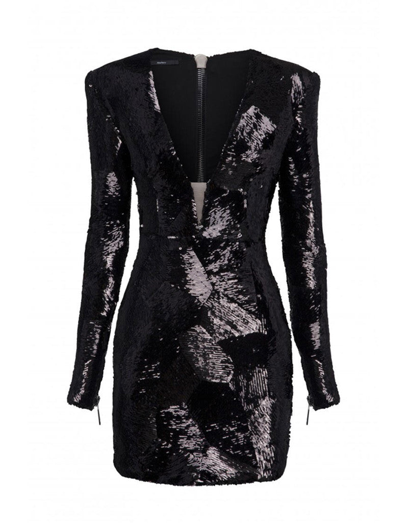 Alex Perry Blondell Sequin Mini Dress