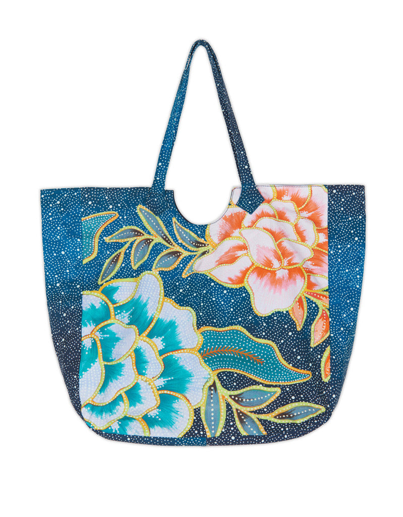 Mara Hoffman Arcadia Beach Bag in Indigo - SWANK - Accessories - 2