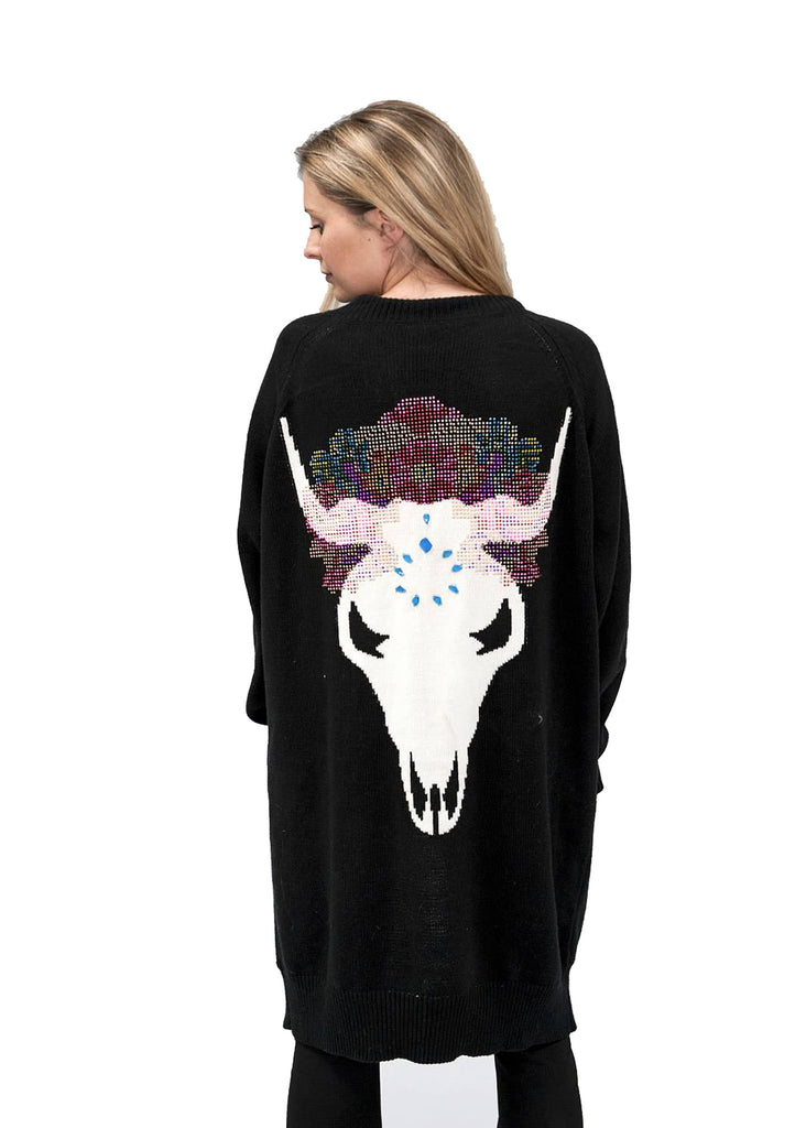 Show Me Your Mumu Big Bang Sweater in Beautiful Bull - SWANK - Outerwear - 1