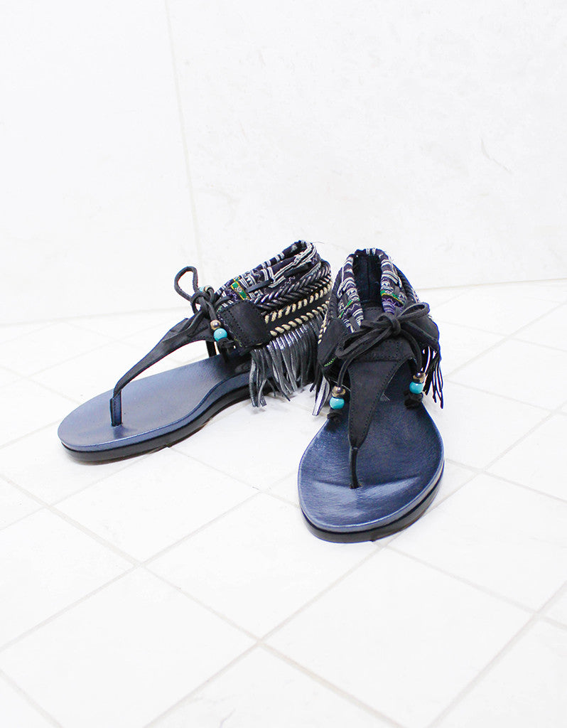 INDIE BOHO SANDALS - BLACK - SWANK - Shoes - 2