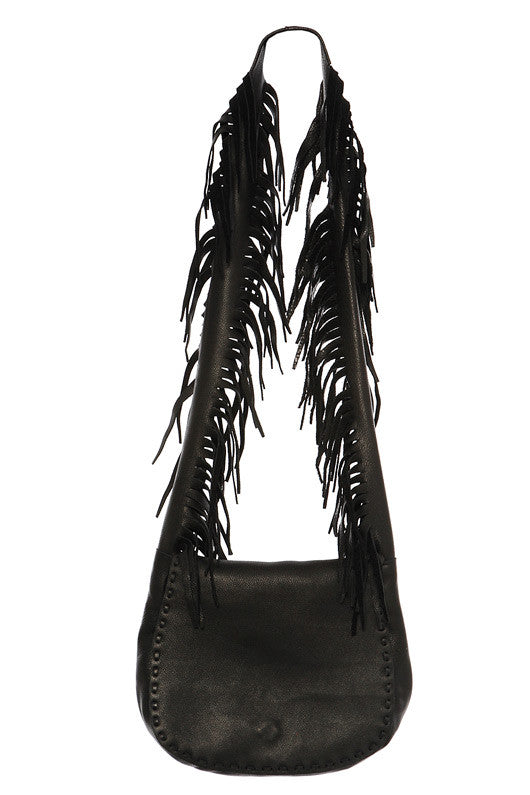 Jennifer Haley Boho Fringe Strap Shoulder Bag **Available in 3 Colors** - SWANK - Handbags - 3