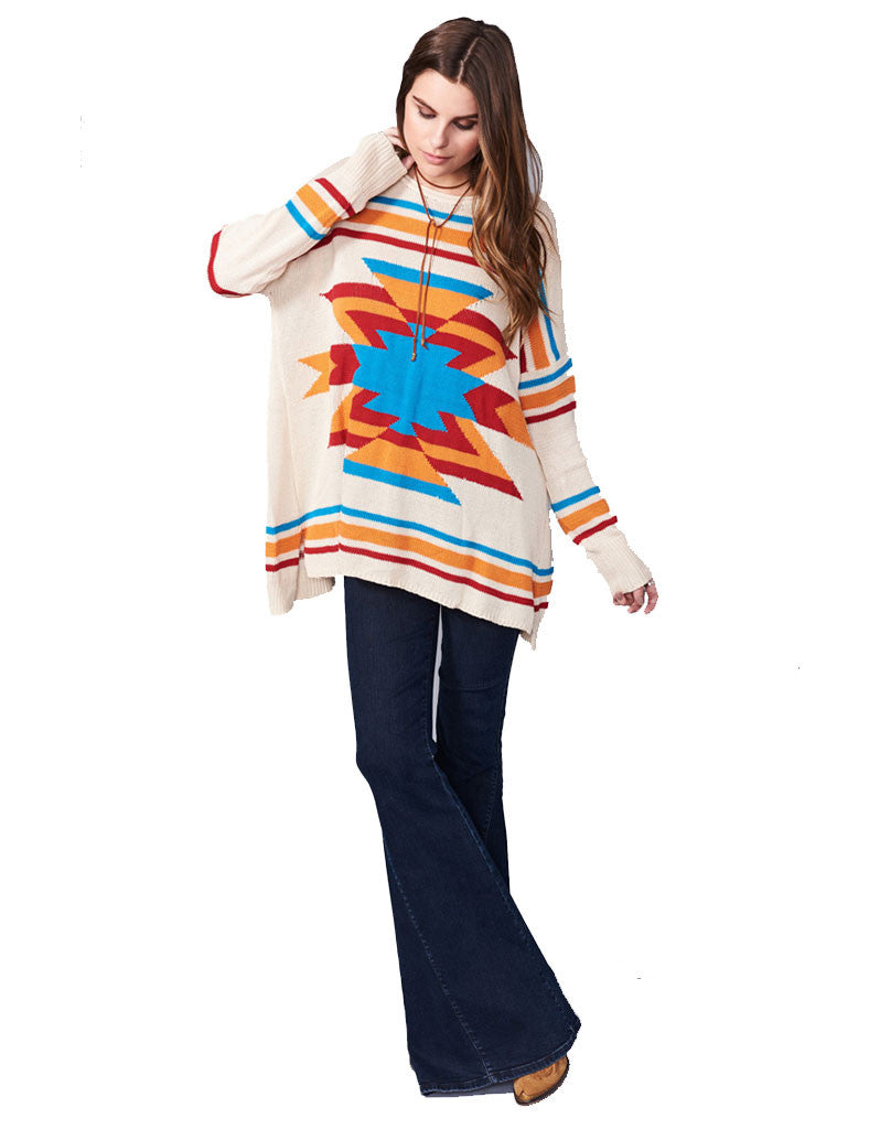 Show Me Your Mumu Bonfire Sweater in Todos Santos - SWANK - Tops - 1