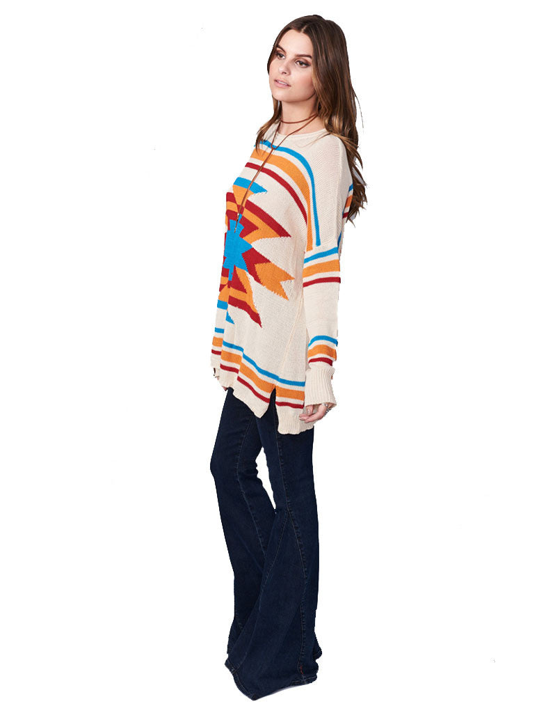 Show Me Your Mumu Bonfire Sweater in Todos Santos - SWANK - Tops - 3