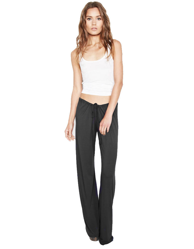 Michael Lauren Barto Drawstring Pant in Black - SWANK - Pants - 1