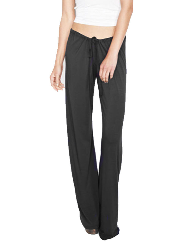 Michael Lauren Barto Drawstring Pant in Black - SWANK - Pants - 2
