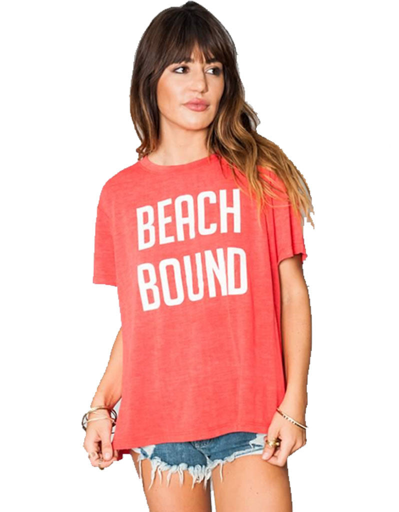 Show Me Your Mumu Coalson Tee Beach Bound - SWANK - Tops - 2