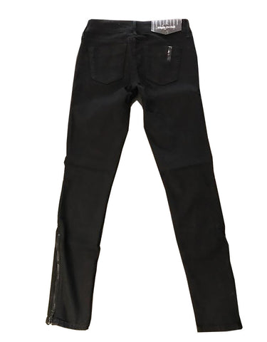 Black Orchid Black Jewel Zipper Skinny