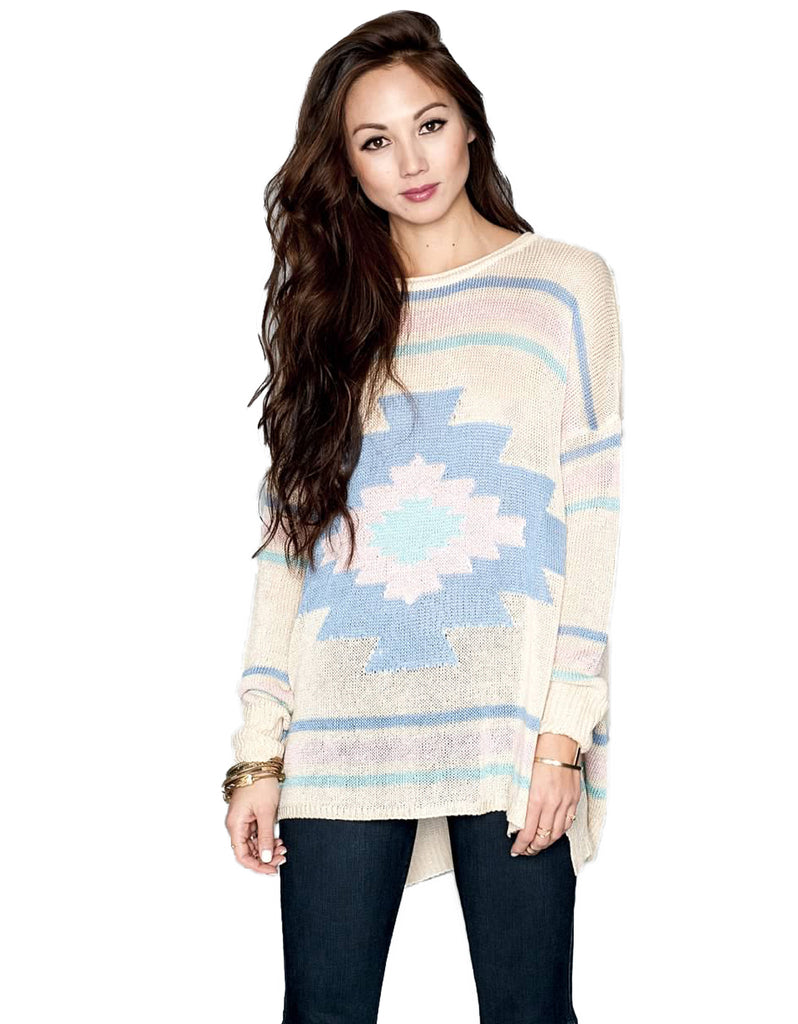 Show Me Your Mumu Bonfire Pullover - SWANK - Tops - 1