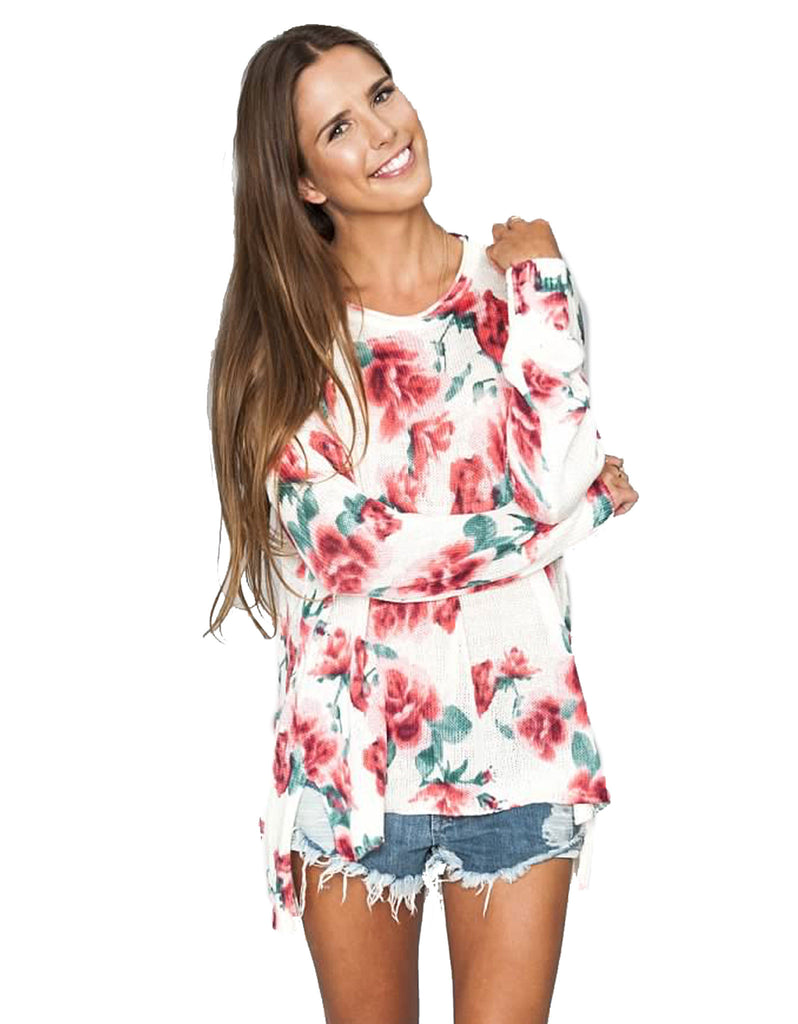 Show Me Your Mumu Bonfire Sweater in Romuntic Rose - SWANK - Tops - 5