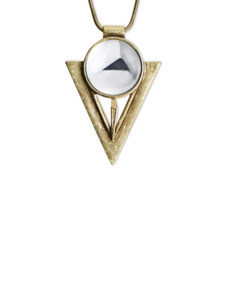 Jenny Bird Bowie Pendant in Gold - SWANK - Jewelry - 2