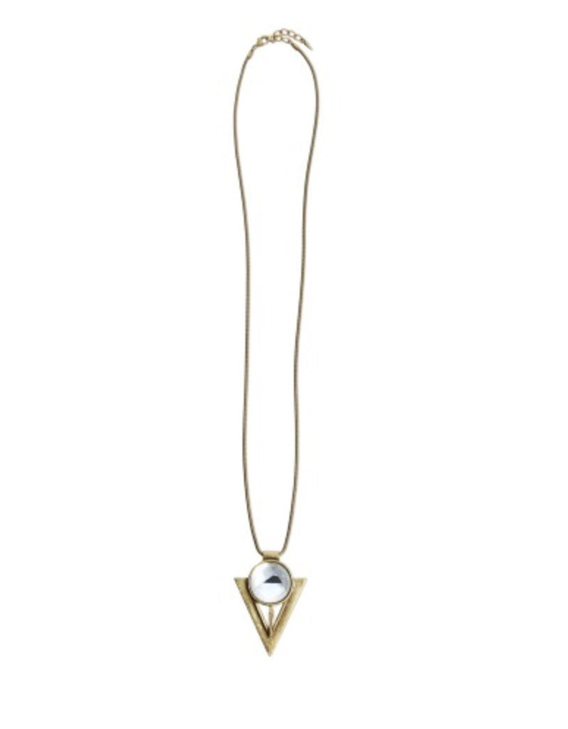 Jenny Bird Bowie Pendant in Gold - SWANK - Jewelry - 1