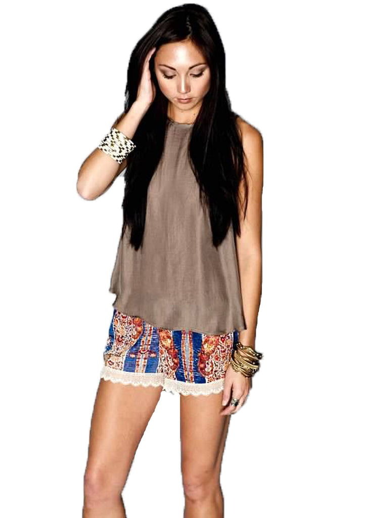 Show Me Your MuMu Bri Lacey Short **Available in 2 Colors** - SWANK - Shorts - 2