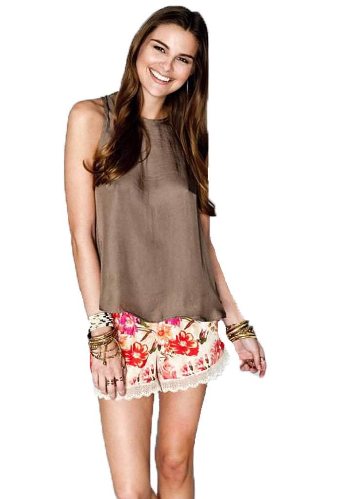 Show Me Your MuMu Bri Lacey Short **Available in 2 Colors** - SWANK - Shorts - 1