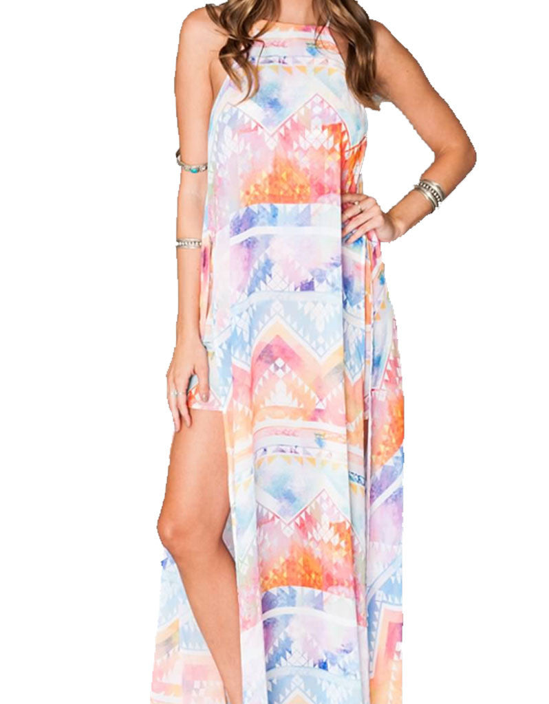 Show Me Your Mumu Bronte Maxi Dress in Salvation Mountain - SWANK - Dresses - 2