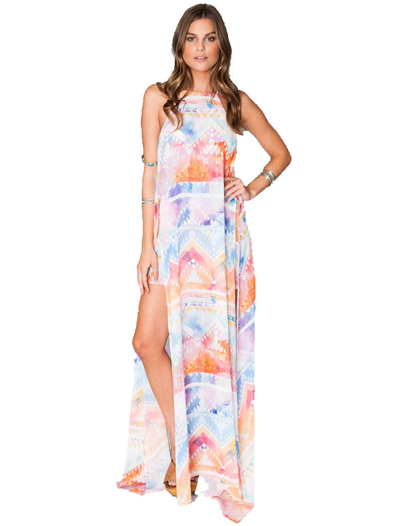 Show Me Your Mumu Bronte Maxi Dress in Salvation Mountain - SWANK - Dresses - 1