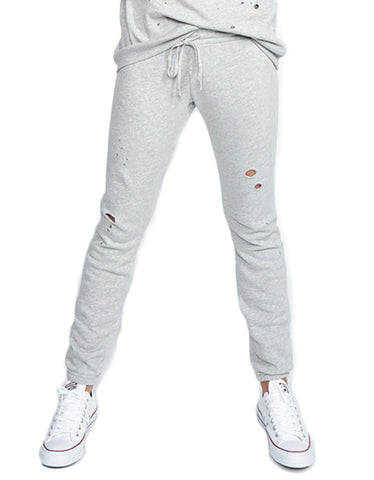 Michael Lauren Campbell Jogger in Heather Grey