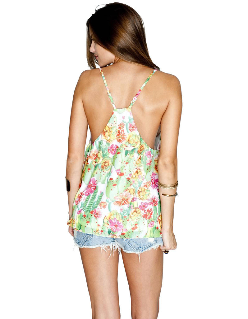 Show Me Your Mumu Carson Top in Cactus Cooler - SWANK - Tops